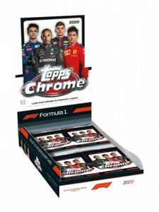 2020 Topps Chrome Formula One F1 Pack X1 Single Pack Of 4 Cards Read Description