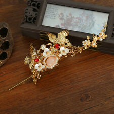 Chinese Hairpin Hair Sticks With Crystal Beads And