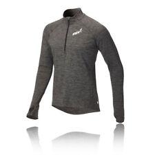 Inov8 ATC Mens Grey Long Sleeve Half Zip Running Training Sports Top M