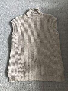 Ganni Wool Knit Vest Slipover BNWT - Small