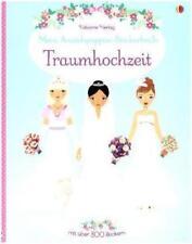 Mein Anziehpuppen-Stickerbuch: Traumhochzeit von Fiona Watt (2015, Taschenbuch)