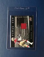 2001 JERRY RICE FLEER GENUINE FINAL CUT GAME USED JERSEY RELIC HOF GOAT 49ERS