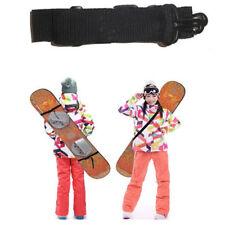 Cinghia porta skateboard snowboard regolabile cintura tracolla plastica+nylon
