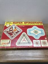 VINTAGE Kenner SPIROGRAPH SUPER 1969 Original Pins Square Instructions Pieces