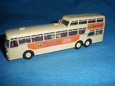 695A Brekina Bus Büssing 1960 Aero Demi Decker Pub Jagermeister Ho 1/87