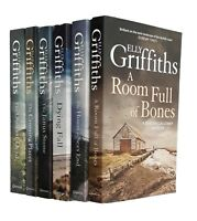 Elly Griffiths 6 Books Ruth Galloway Thriller Crossing Places Janus Stone +4 New