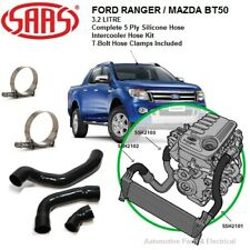 SAAS FORD RANGER / MAZDA BT50 3.2L 5 CYL INTERCOOLER SILICONE PIPE HOSE KIT