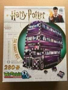 ~ HARRY POTTER ~ The Knight Bus ~ Wrebbit 3D Puzzle ~ FREE Postage ~