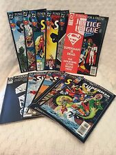 SUPERMAN-MAN Funeral For A Friend Complete set 9 issue plus 2 Bonus 1992-94