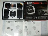 Weber iGrill3 Bluetooth Grilling Thermometer Gas Grill Genesis With 2 Meat Probe
