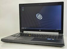 HP EliteBook 8560w | i7-2630QM (2.00 GHz) | 320 GB HDD | 12 GB RAM | Linux