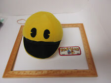 OEM Tagged 2001 Stuffed Pacman Toy & Embroided Original Pacman 1991 Midway Patch