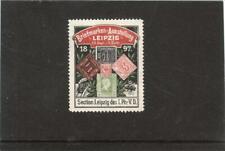DEUTSCHES REICH, VIGNETTE, Briefmarken - Ausstellung LEIPZIG 1897