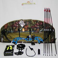 """Fred Bear 2017 Cruzer G2 Spark Bow Blue Right Hand Package  5-70#  12-30"""""""