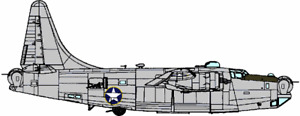Wilde Sau Resin 1/48 Mystery B-24 Liberator is Alive! Conversion for Monogram.