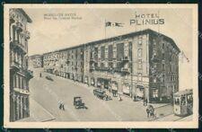 Milano Città Hotel Plinius Tram cartolina RT5327