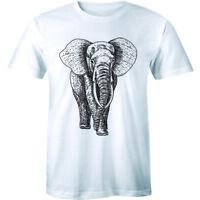 Beautiful Big Elephant Spirit Animal Lover Men's Premium T-shirt Gift Tee