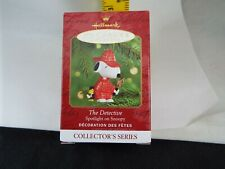 Hallmark Ornament 2000 Snoopy The Detective Nib
