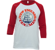 New England Tea Men NASL Soccer Raglan 3/4 Sleeve Tee | Multiple Styles & Colors