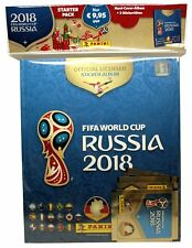 Panini World Cup 2018 Russia - Deluxe Hardcover album + 3 packs of stickers