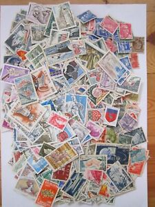 LOT1900  STAMPS FRANCE CIRCULATED