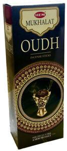Hem Mukhalat Oudh Incense Bulk 6 x 20 Stick (120 Sticks) Free Shipping