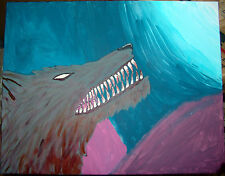 Lycanthropy Beast of the Night Hell Hound haunted painting spirit dybbuk ACTIVE