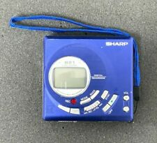 Sharp MiniDisc MD-MT821-A MD Recorder/Player Walkman 24BIT ATRAC NICE UNIT !!!