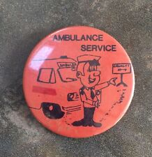 Vintage Ambulance Service Badge