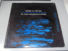 Riders To The Sea In The Shadow Of The Glen~John Millington Synge~Spoken Arts