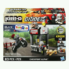 LEGO GI Joe KREO A3361 Checkpoint Alpha VINTAGE FIREFLY LAW & ORDER MINIFIGS NEW