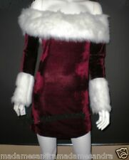 CHRISTMAS COSTUME MISS SANTA CLAUS OUTFIT Christmas Woman ELF LADIES Fancy Dress