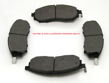 Front Brake Pads (4) For Nissan Navara D22 2.5TD (YD25) 11/2001>ON 300MM DISCS
