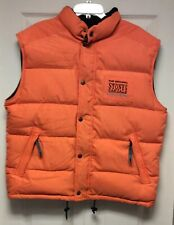 Stones Down Vest - Med, each (fits like large) Orange