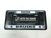 NHL Boston Bruins License Plate Frame Chrome Metal Car Truck Jeep FREESHIP