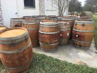 Premium Oak Wine Barrels - Free local pickup