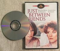 Just Between Friends 1986 (DVD OOP R1 MGM 2004) Mary Tyler Moore