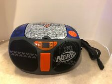 Nerf Cd Boombox Am/Fm iPod Player 56356 N-Strike Super Rare Collectible Works!