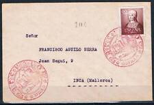 1951.-  ARÉVALO (ÁVILA) A INCA (MALLORCA)