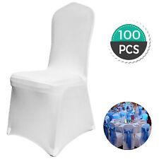 VEVOR Lot de 100 Housses de Chaise - Blanches
