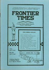 1924 Frontier Times Monthly Magazine (1973 reprint) Across The Plains 1849