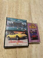 Citgo 24 Carat III And Shell Cruisin' Classics V + III LOT Cassette Tapes Gas