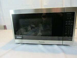 Panasonic 1.3CuFt Stainless Steel Countertop Microwave Oven NN-SC668S - Open Box