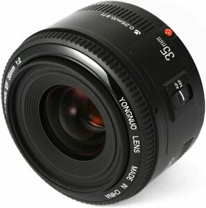 """""""NEW"""" YONGNUO YN35mm F2 Prime Auto Focus Lens same as EF 35mm for Canon camera"""