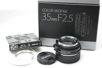VOIGTLANDER COLOR SKOPAR 35mm F2.5P II VM MF Lens for Leica M Japan #i89