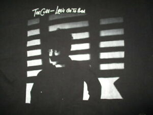 """1982 THE CURE """"Let's Go To Bed"""" Concert Tour (XL) T-Shirt ROBERT SMITH"""