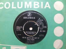 """The Animals – We've Gotta Get Out Of This Place 1965 7"""" Columbia DB 7639"""