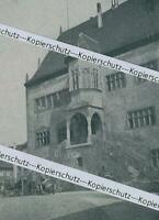 Dettelbach : Rathaus - Marktplatz - um 1915      Z 2-13