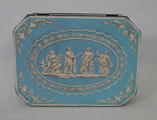 Vintage Huntley & Palmers Wedgewood Casket Biscuits Tin (1950s/1960s)