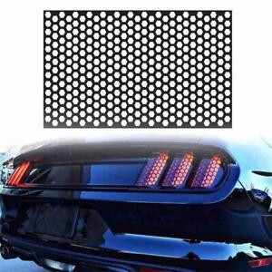 Car Rear Light Sticker Honeycomb Tail Light Lamp Cover Exterior Decals Universal